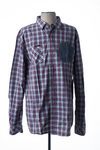 Chemise manches longues homme Kaporal bleu taille : XL 32 FR (FR)
