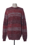 Pull col rond homme Gsus rouge taille : L 32 FR (FR)