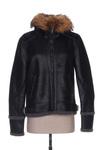 Veste simili cuir femme Mon Beau Vetement noir taille : 40 79 FR (FR)