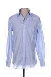 Chemise manches longues homme Bruno Saint Hilaire bleu taille : S 22 FR (FR)