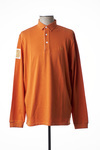 Polo manches longues homme Serge Blanco orange taille : XL 64 FR (FR)