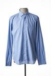 Chemise manches longues homme Serge Blanco bleu taille : 6XL 47 FR (FR)