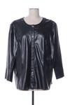 Veste simili cuir femme Elena Miro noir taille : 48 67 FR (FR)