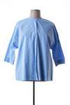 Chemisier manches longues femme Voyage By Marina Rinaldi bleu taille : 42 129 FR (FR)
