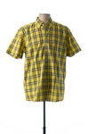 Chemise manches courtes homme Pierre Clarence jaune taille : L 27 FR (FR)