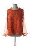Blouse manches longues femme Cream orange taille : 44 24 FR (FR)