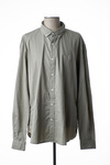 Chemise manches longues homme Serge Blanco beige taille : 3XL 55 FR (FR)