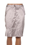 Jupe mi-longue femme O.K.S beige taille : 38 43 FR (FR)