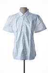 Chemise manches courtes homme Teddy Smith blanc taille : L 20 FR (FR)