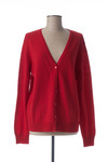 Gilet manches longues femme Katmai rouge taille : 46 44 FR (FR)
