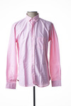 Chemise manches longues homme Serge Blanco rose taille : M 47 FR (FR)