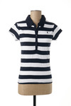 Polo manches courtes femme Only bleu taille : 34 9 France (FR)