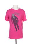 T-shirt manches courtes homme Diesel rose taille : L 40 FR (FR)