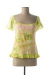 T-shirt manches courtes femme Custo vert taille : 42 37 FR (FR)