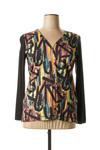 T-shirt manches longues femme Franck Anna noir taille : 44 70 FR (FR)
