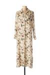 Robe longue femme La Fee Maraboutee beige taille : 44 79 FR (FR)