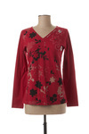 T-shirt manches longues femme Agathe & Louise rouge taille : 46 32 FR (FR)