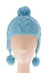 Bonnet garçon Lili Gaufrette bleu taille : 12 M 7 FR (FR)