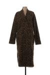 Manteau long femme Geisha marron taille : 38 74 FR (FR)
