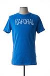 T-shirt manches courtes homme Kaporal bleu taille : M 12 FR (FR)