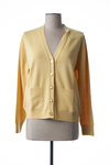 Gilet manches longues femme Pinas jaune taille : 40 49 FR (FR)