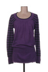Pull tunique femme 2 Two violet taille : 34 14 FR (FR)