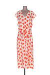 Robe mi-longue femme Essentiel Antwerp orange taille : 44 107 FR (FR)