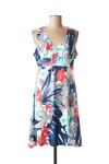 Robe mi-longue femme Rose Pomme bleu taille : 40 21 FR (FR)