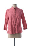 Chemisier manches longues femme La Cible Rouge rose taille : 40 37 FR (FR)