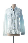Chemisier manches longues femme Only bleu taille : 36 19 FR (FR)