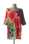 T-shirt manches courtes femme Desigual rouge taille : 38 29 FR (FR)