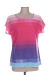 T-shirt manches courtes femme Abril rose taille : 44 15 FR (FR)