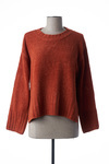 Pull col rond femme Nice Things orange taille : 38 34 France (FR)