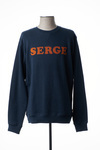 Sweat-shirt homme Serge Blanco bleu taille : XL 49 FR (FR)