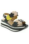 Sandales/Nu pieds femme Janet Sport noir taille : 41 89 FR (FR)