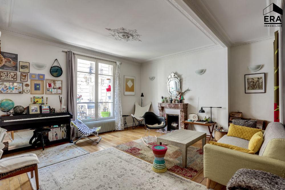 vente Appartement - 4 pièce(s) - 90 m² Paris 14