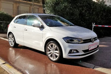 Volkswagen Polo 1.0 TSI 115 S&S BVM6 Carat Exclusive 2018 occasion Cannes 06400