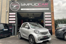 Smart ForTwo Fortwo Coupé 0.9 109 ch S&S BA6 Brabus Xclusive 2016 occasion Champigny-sur-Marne 94500