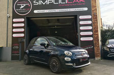Fiat 500 1.2 8V 69 ch Lounge 2016 occasion Champigny-sur-Marne 94500
