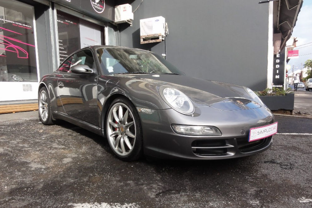 PORSCHE 911 CARRERA COUPE 997 S  3.8i Tiptronic 51000 97410 Saint-Pierre