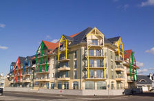 Résidence Les Terrasses de la Plage -cabine- BAT studio 4p Piscine couverte - Piscine collective - Télévision - Terrasse - place Picardie, Cayeux-sur-Mer (80410)