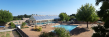 Huttopia Saumur - Tente Toile&Bois Classic IV SANS SANITAIRE Piscine couverte - Piscine collective - Club enfants - Accès Intern Pays de la Loire, Saumur (49400)