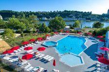 Flower Camping Ile d'Offard - Résidence Premium 40m² 2 chambres + terrasse panoramique + TV + draps inclus Piscine collective - Pays de la Loire, Saumur (49400)
