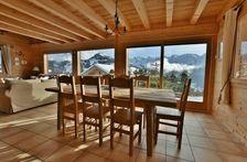 Magnifique chalet indépendant, 10 personnes, 5 chambres, vues imprenables! Télévision - Terrasse - place de parking en extérieur Rhône-Alpes, Le Grand-Bornand (74450)