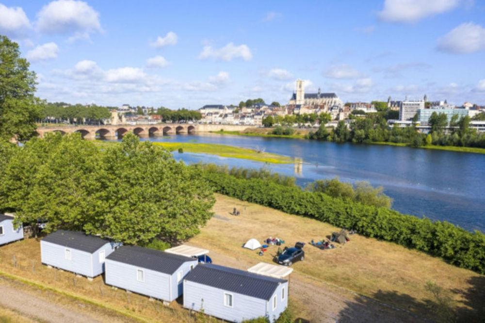 Camping de Nevers - Mobil-home Super Mercure Access - 27 m² Télévision - Accès Internet . . . Bourgogne, Nevers (58000)
