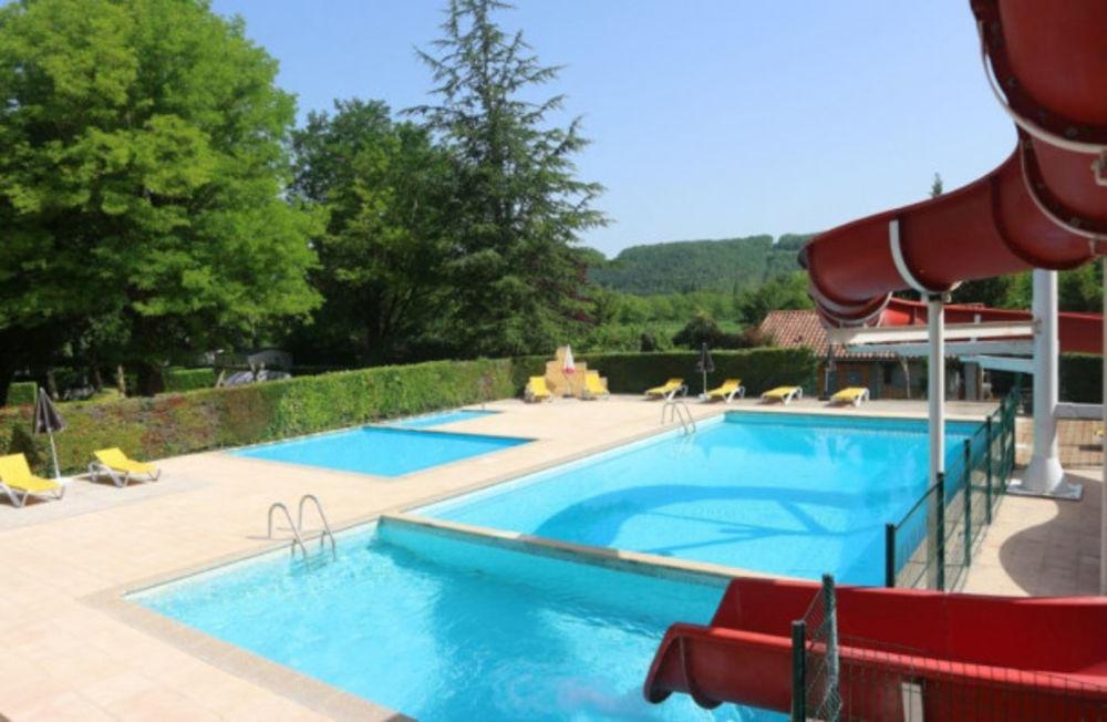 Camping Le Céou - Tente Prêt à camper SANS SANITAIRE Piscine collective - Jeux jardin - Lit bébé . . . Aquitaine, Saint-Cybranet (24250)