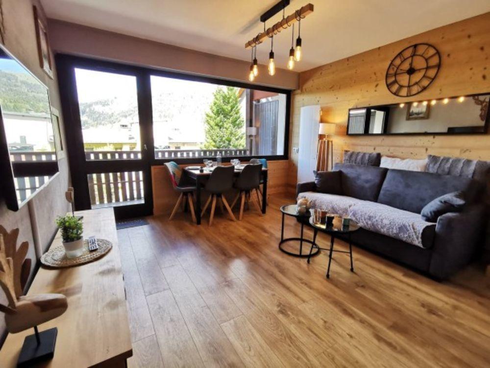 appartement 4 personnes Télévision - Terrasse - Balcon - place de parking en extérieur - Lave vaisselle . . . Rhône-Alpes, Les Gets (74260)