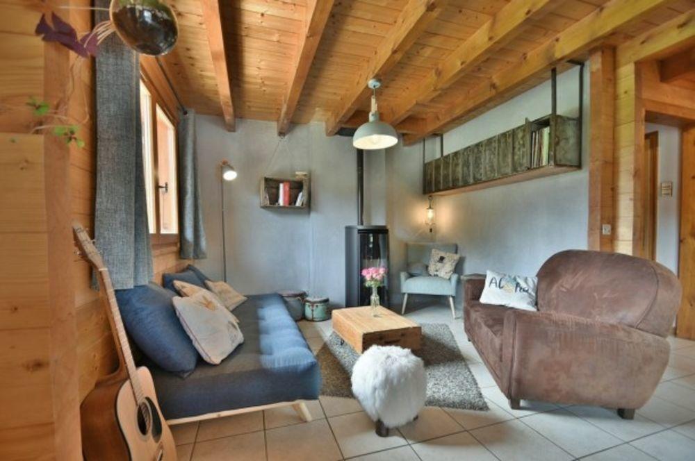 Magnifique chalet indépendant 8/10 personnes, 5 chambres, jacuzzi, proche stations! Télévision - place de parking en extérieur - Rhône-Alpes, Saint-Jean-de-Sixt (74450)