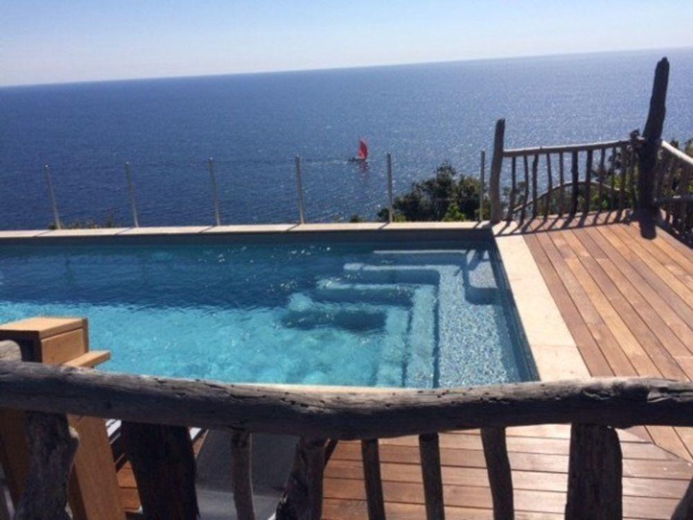 Alicia - Fautea - SPA - FAUTEA Piscine privée - Vue mer - Télévision - Terrasse - place de parking en extérieur . . . Corse, Ste Lucie De Porto Vecchio (20144)