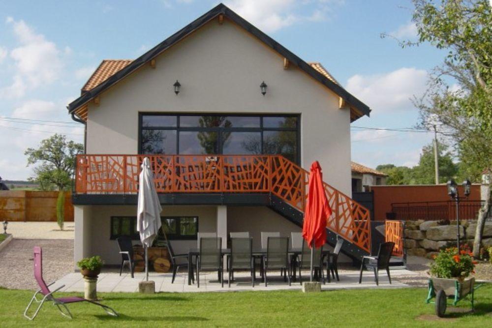 Maison de vacances - HORVILLE-EN-ORNOIS Piscine privée - Bain à remous - Télévision - Lave vaisselle - Lave linge . . . Lorraine, Horville-en-Ornois (55130)